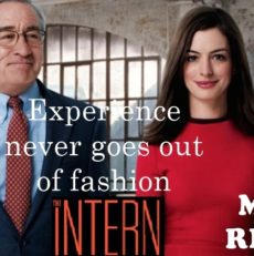 Movie Review – The Intern – Writing in English